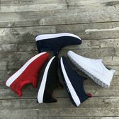 男士鞋慢跑鞋飛織網面透氣超軟飛線 可哥鞋櫃