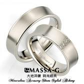 Sware 鈦金對戒  MASSA-G DECO系列 Double Ring