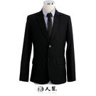 【男人幫】C5309*都市著用條紋窄版西裝外套