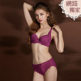 【曼黛瑪璉】Hibra大波內衣  E-F罩杯(紫莓紅)(未滿3件恕無法出貨,退貨需整筆退)