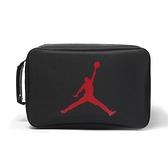 NIKE 手提包 鞋袋 JORDAN SHOES BOX 黑紅 爆裂紋 運動 休閒 鞋盒包 (布魯克林) 9B0388-GK9