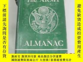 二手書博民逛書店外文原版罕見THE ARMY ALMANAC( 陸軍年鑑) 19