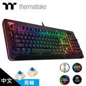 【TT Premium 曜越】Level 20 RGB GT Cherry MX 機械式青軸電競鍵盤(中文)
