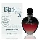 Paco Rabanne Black Xs L''exce 搖滾盛世女性淡香精 80ml Tester 包裝