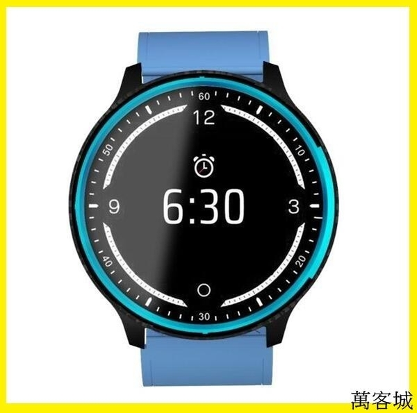 智慧運動手錶  心率血壓血氧睡眠健康監測多功能智能手環 新P69彩屏智慧手環 萬客城