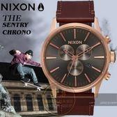NIXON 實體店THE SENTRY CHRONO潮流時尚腕錶A405-2001公司貨
