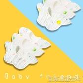 嬰兒口水巾純棉紗布寶寶吃飯圍嘴圍兜防水360度旋轉新生款凱斯盾數位3C