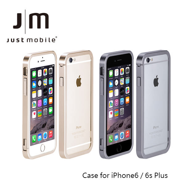 Just Mobile AluFrame iPhone 6 / iPhone6Plus 極簡風鋁框 鋁合金邊框