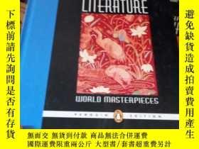 二手書博民逛書店Prentice罕見Hall Literature: World