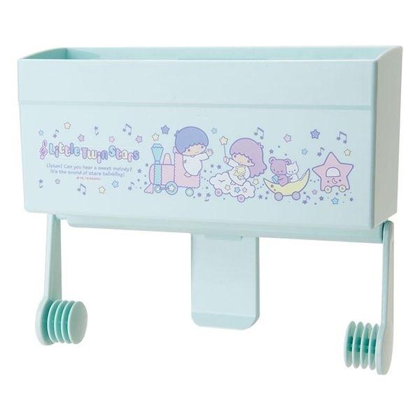 【震撼精品百貨】Little Twin Stars KiKi&LaLa 雙子星小天使~雙星仙子可磁吸式廚房紙巾架(歡樂列車)