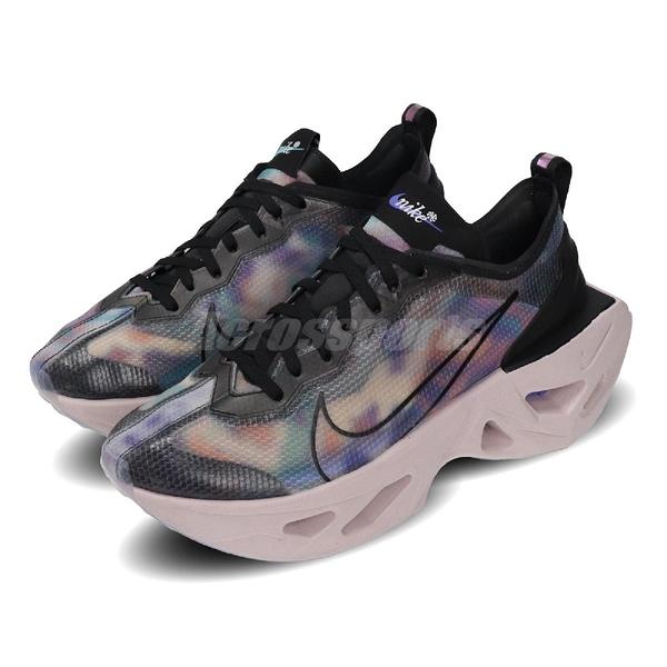 Nike 休閒鞋 Wmns Zoom X Vista Grind SP 彩色 灰 女鞋 老爹鞋 厚底 運動鞋 【PUMP306】 CT5770-001
