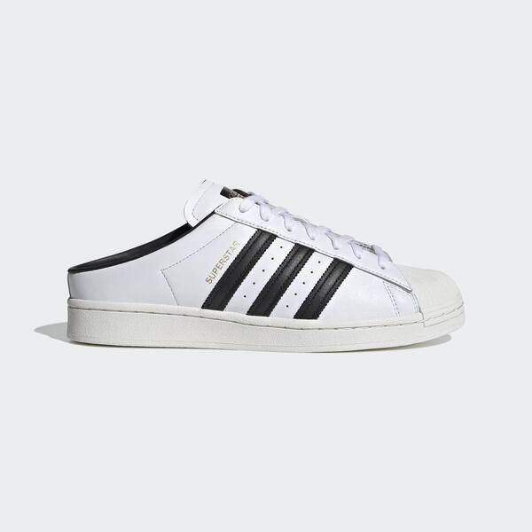 Adidas Superstar Mule [FX5851] 男女鞋 運動 休閒 拖鞋 涼鞋 貝殼 穿搭 愛迪達 白 黑