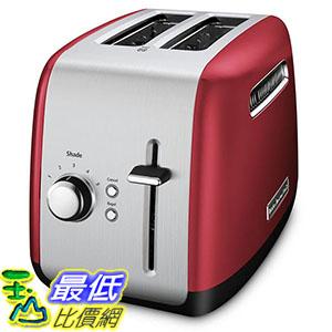 [106美國直購] KitchenAid KMT2115ER Toaster with Manual High-Lift Lever, Empire Red 烤麵包機