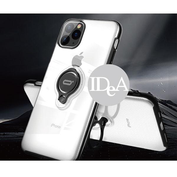 IDEA iPhone11 指環支架手機殼 磁鐵 保護殼 全包 軟殼 蘋果 防摔殼 透明 簡約 磁吸 11