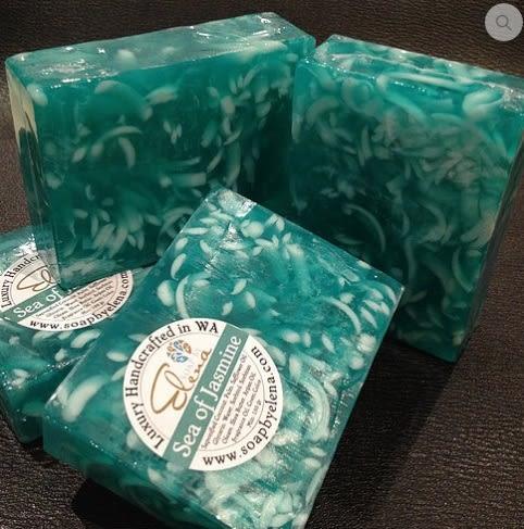 無毒天然澳洲艾琳娜 SOAP BY ELENA 養膚手工皂-茉莉之海