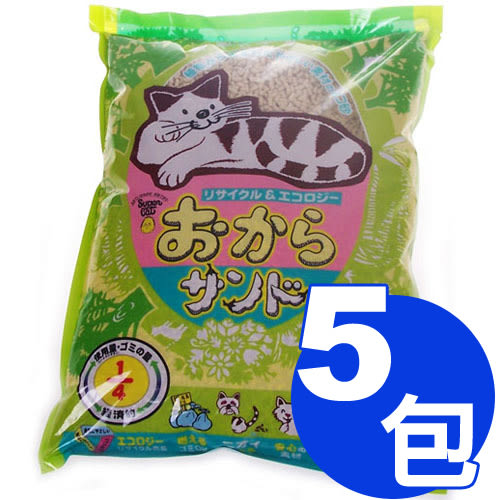 【寵物王國】韋民超級A豆腐貓砂7L x5包超值組合【免運費】
