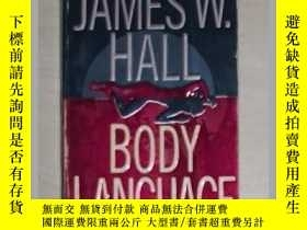 二手書博民逛書店英文原版罕見Body Language by James W.