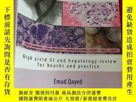 二手書博民逛書店Gastroenterology罕見Clinical Focus: High Yield Gi and Hepat