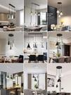餐廳燈吊燈三頭現代簡約