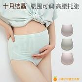 孕婦內褲純棉初期孕中期孕晚期孕早期高腰短褲懷孕期內衣【小橘子】
