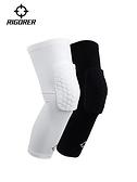 籃球蜂窩防撞護膝套男專業半月板加長防護腿運動護具膝蓋裝備 樂活生活館