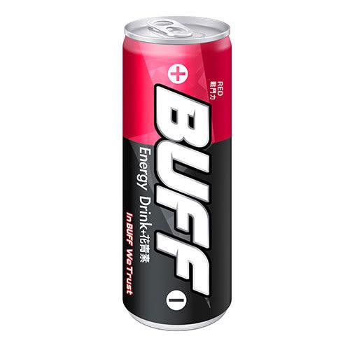 BUFF能量飲料-紅250ml*4【愛買】