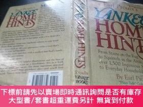 二手書博民逛書店Earl罕見Proulx s YANKEE HOME HINTS 1993年 16開硬精裝 原版英法德意等外文書