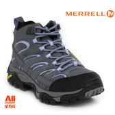 【Merrell】女款HIKING 郊山健行MOAB 2 MID GTX多功能系列 -灰紫色(06066)【全方位運動戶外館】】