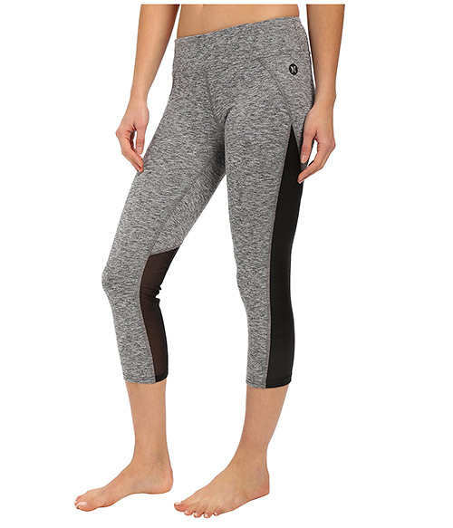 Hurley X Nike DRI-FIT 科技 PANELED LEGGING Beach Active系列 七分褲 -女(灰)