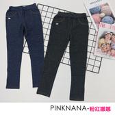PINKNANA童裝-大童平織內搭長褲PN807