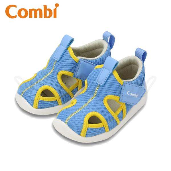 康貝 Combi  城市飛行 幼兒機能涼鞋 -快意藍