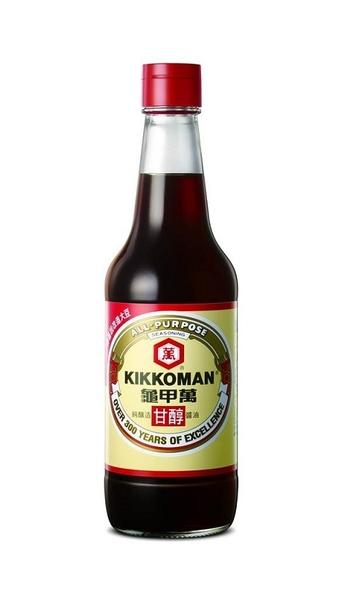【龜甲萬】純釀造甘醇醬油500ml/罐,不含防腐劑