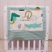 嬰兒床上用品床頭多格收納