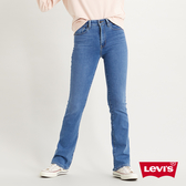 Levis 女款 725 高腰合身靴型牛仔褲 / 淺藍刷白 / orta歐洲丹寧 / 彈性布料