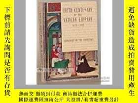 二手書博民逛書店fifth罕見centenary of the Vatican