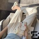哈倫褲女春秋寬鬆束腳薄款休閒冰絲運動褲燈籠褲夏季【左岸男裝】