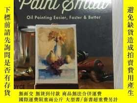 二手書博民逛書店外文進口美術油畫靜物think罕見big paint&mall oil painting easier faste