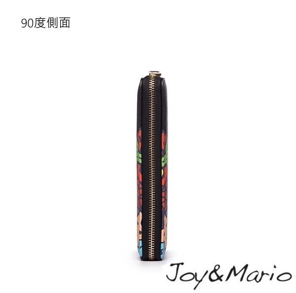 【Joy&Mario】J.Pierce普普風塗鴉款長夾 - B0080T YELLOW