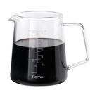 金時代書香咖啡 Tiamo 耐熱玻璃咖啡下壺 400ml HG2186