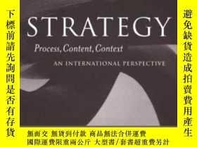 二手書博民逛書店【罕見】Strategy: Process Content Co
