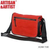 【日本ARTISAN&ARTIST】ACAM-7100  帆布相機包 紅色