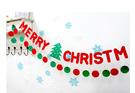 【韓風童品】節慶派對聚會裝飾旗 拍攝道具背景裝飾掛旗 裝飾掛飾 圣誕節裝飾掛飾