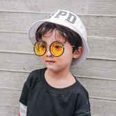 618好康又一發兒童眼鏡酷男童韓國太陽鏡男寶寶墨鏡潮個性小孩正韓1-3歲太陽鏡