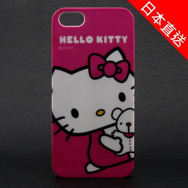 日本直送 Hello Kitty 凱蒂貓 Melody Kuromi 美樂蒂 酷洛米 iPhone5S/ 5 硬式保護殼 硬殼 手機殼 亮面光滑