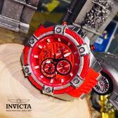 【INVICTA】新一代極致繩索腕錶 52mm - 紅色