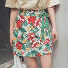 MUMU【P77569】好搭花瓣蝴蝶結裙。兩色