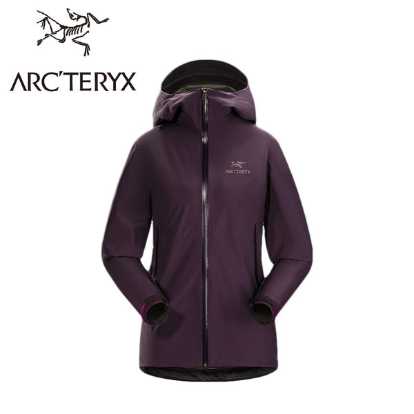 【ARC TERYX 始祖鳥 Beta SL Jacket Women s 女款 防水外套《紫》】10969/GORE-TEX/防水外套/防風外套★滿額送