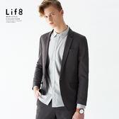 Formal 五合一機能面感 易整極輕 西裝外套 (修身版)-灰色【11161】