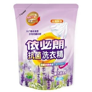 依必朗 抗菌洗衣精 補充包-薰衣草香氛 1800g