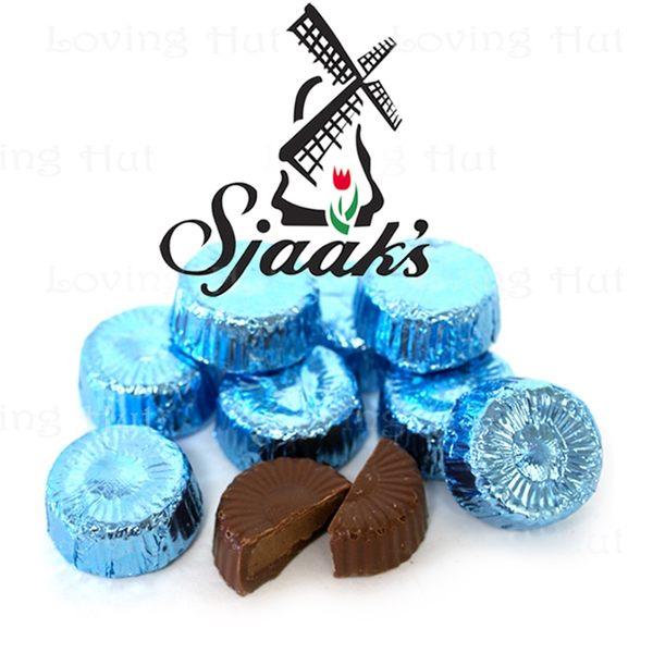 Sjaak's 榛果醬巧克力80g(5顆)花型★愛家嚴選純素 愛心VEGAN Chocolate 甘納許濃郁內餡